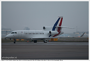 2014-01-20 Amsterdam - Learjet and Falcon